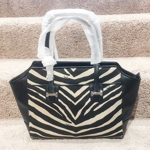 Coach zebra purse